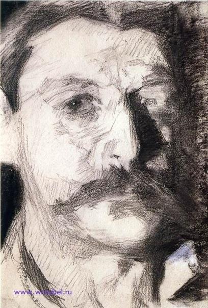 Автопортреты Михаила Врубеля Врубель оставил большое количество автопортретов, главным образом графических. Представляем 10 вариантов. Все картины подписаны.Михаил Врубель - русский художник,