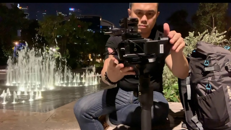 First testing of MOZA Air 2 ( Review Set up) Timelapse by Moza MIni-MI
