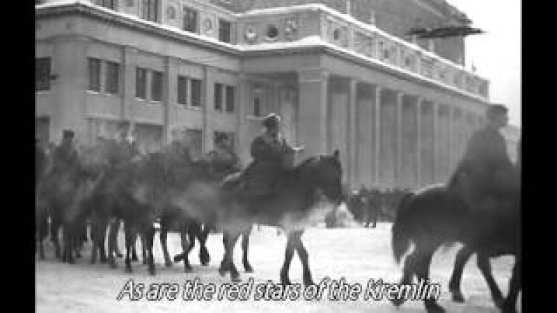 Марш защитников Москвы - March of the defenders of Moscow ( english sub )