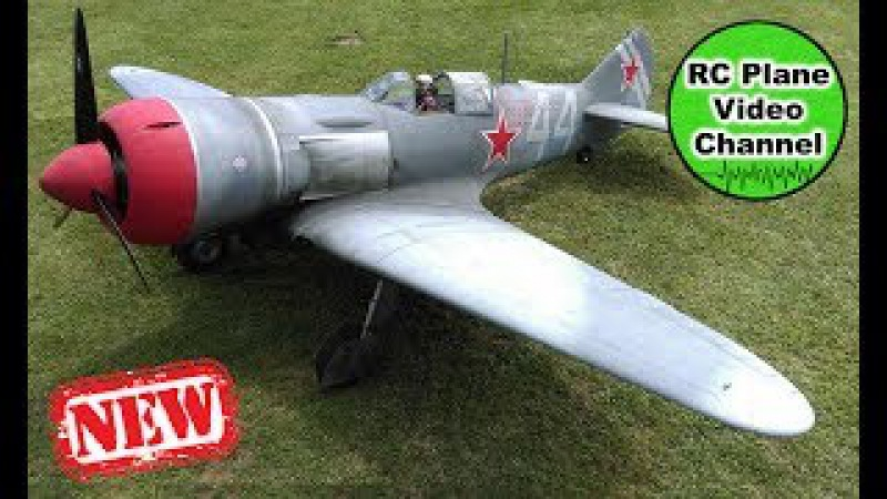 LA-7 Lavochkin 13,5 - ScaleWings - 2800mm - Moki 250 - Pilotentreffen MFG Mistelgau 2017 - Rob