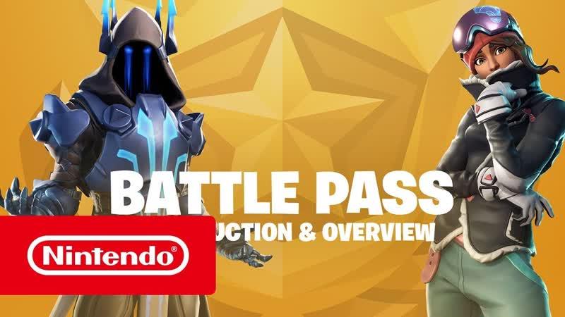 Fortnite — боевой пропуск для сезона 7 (Nintendo Switch)