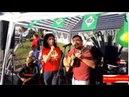 Agora do acampamento Lula Livre. Sábado com militância unida em defesa de Lula e da democracia.