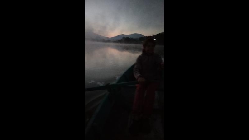 5 часов утра,река Лебедь,Турочак🏞️⛰️🌲🚗🏠