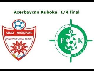 """""""Araz Naxçıvan"""" - """"Xəzər Lənkəran"""" 1:1"""