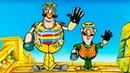Приключения капитана Врунгеля Серия 4 1979 Советский мультфильм Золотая коллекция