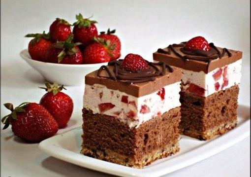 Пирожные своими руками с фото