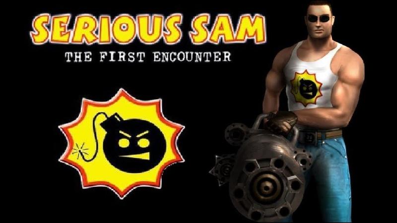 Прохождение игры Serious Sam The First Encounter 11 Фивы. Аллея сфинксов.