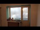 Ремонт квартир в Вологде Ул Вологодская 8 Заменена входная дверь Полы обшиты ДВП Стены оштукатурены под правило