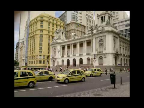 Centro da Cidade do Rio de Janeiro Brasil com Musicas Classica e Fotos Caminho do Turista 2018