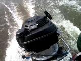 лодочный мотор хонда+ветерок