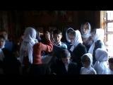 Служба в монастыре Казанской ик. Божией Матери в урочище Кипяче - Единородный Сыне