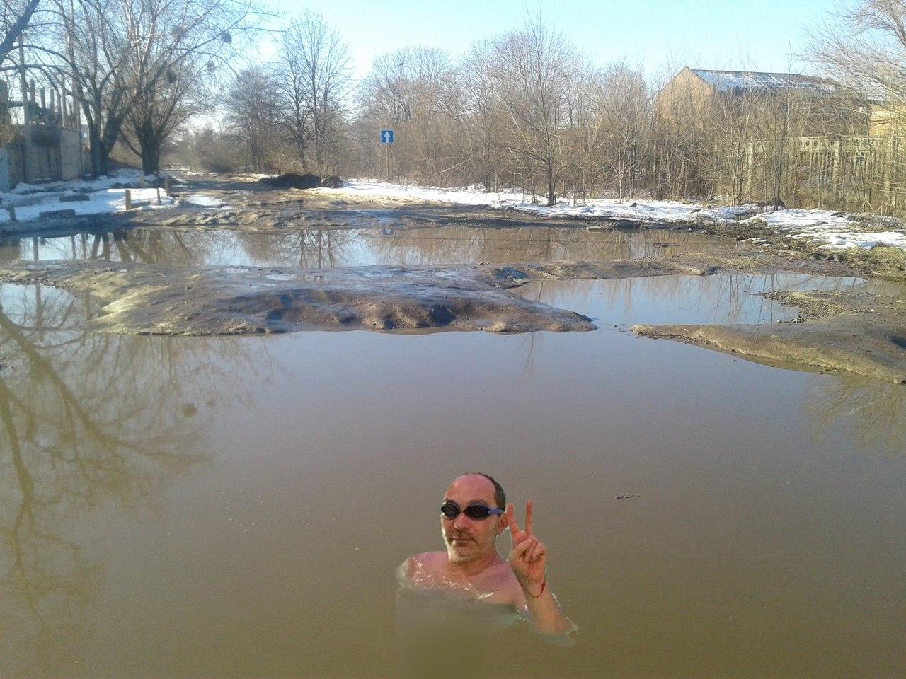 Асфальт стоимостью более чем 700 млн грн сошел вместе со снегом в Харькове, - KHARKIV Today - Цензор.НЕТ 4808