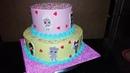 Тортик Куклы LOL