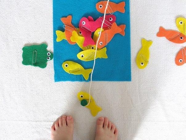 Игра рыбалка своими руками