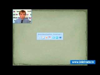 TeleTrade TV представляет во вторник в 12-30 и в пятницу в 11-20 по киевскому времени прямой эфир Дмитрия Трунина