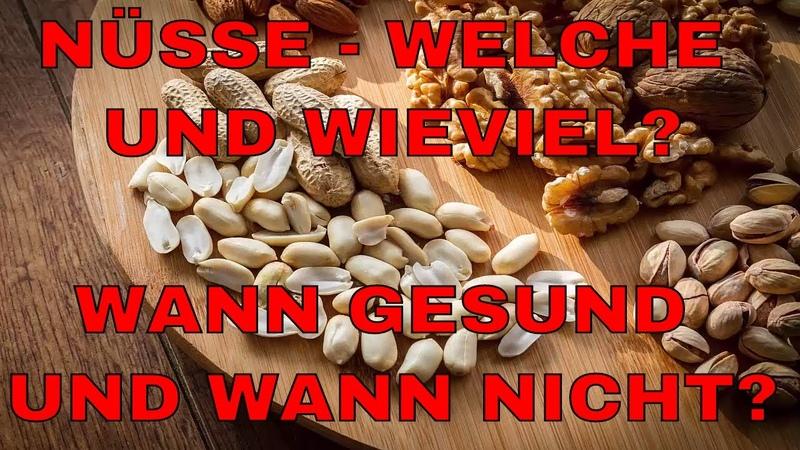 Mandeln, Walnüsse oder andere Nüsse