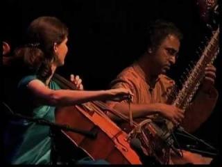 "Pandit Shubendra Rao (sitar) Saskia Rao de-Haas (cello) ""Charukesi Raga"" (from CD ""Maximum India"")(Live at John F.Kennedy Center)(March,2011)"