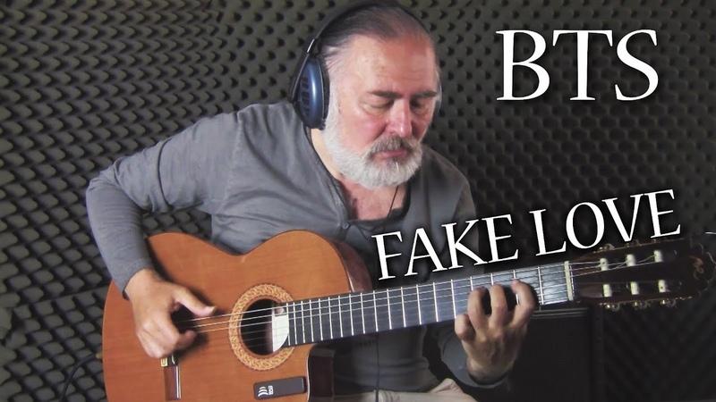 BTS (방탄소년단) 'FAKE LOVE' | Fingerstyle Guitar | Igor Presnyakov