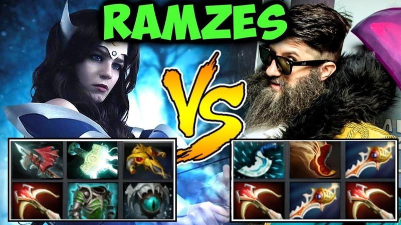 Ramzes666 Full Item Mirana vs One Punch Man Kunkka in patch 7.18