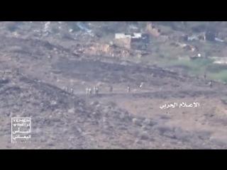 صد زحف واسع للمرتزقة وتدمير وإعطاب عدد من آلياتهم شمال معسكر خالد في تعز - .mp4