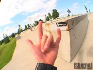 Ethernal Skate Films / Rylan Shaver Skateboard video @ Brockville Skatepark (Ontario-Canada) !!!
