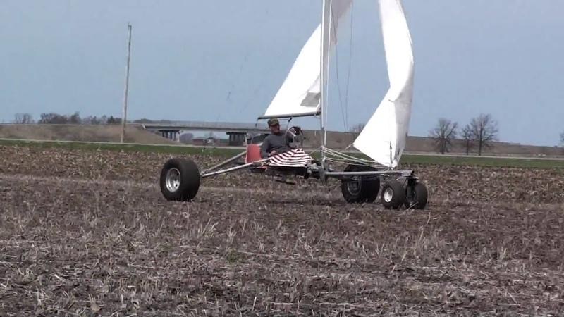 All terrain land yacht