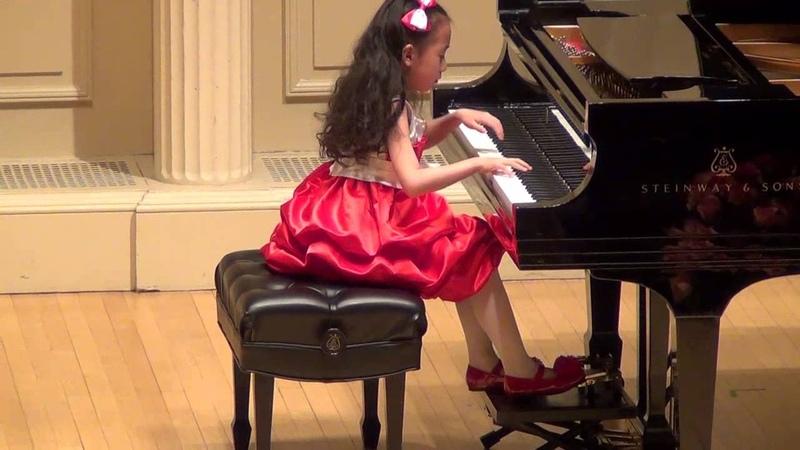 Harmony Zhu (age 7) - Chopin Waltz in C sharp Minor, Op.64, No.2