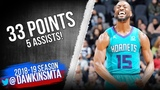 Kemba Walker Full Highlights 2019.01.14 Hornets vs Spurs - 33 Pts, 5 Ats, 7 Threes! FreeDawkins