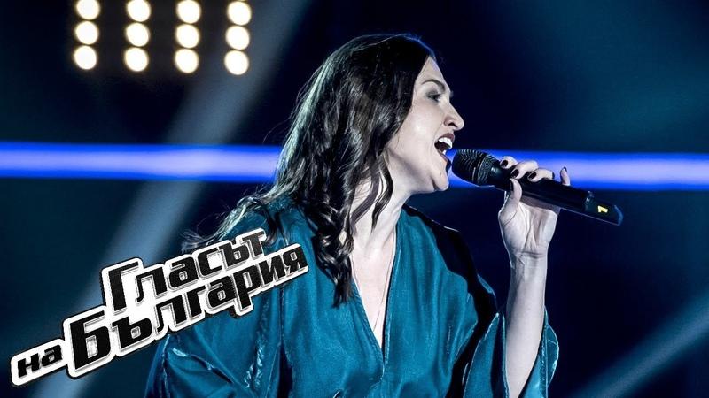 Дарина Желязкова It's All Coming Back To Me Гласът на България 2019 Кастинги на тъмно 24 02