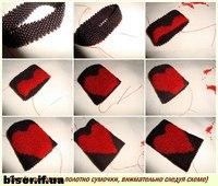 сумочка-амулет из бисера,мастер-класс сумочка из бисера,мастер-класс сумочка-амулет из бисера,мозаичное плетение.