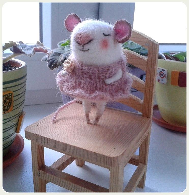 красивая мышка