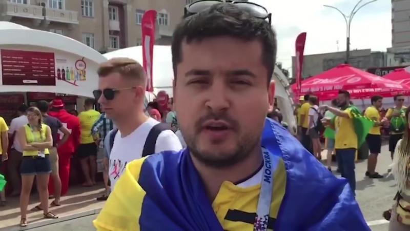 Украинец, который наплевал на рекомендации властей и приехал на ЧМ-2018