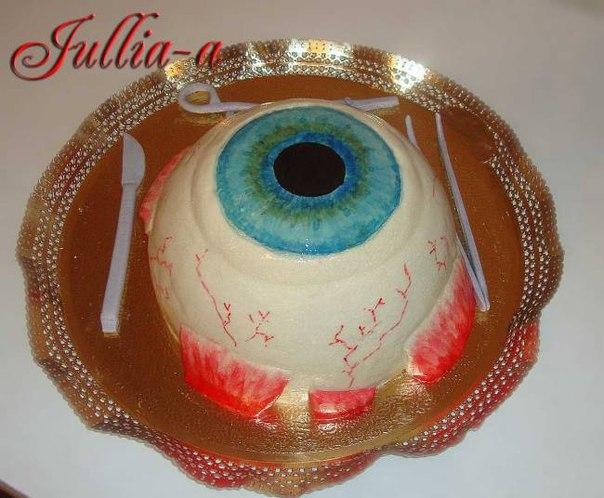 Торт для офтальмолога