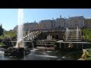 Торжественный ежедневный пуск фонтанов в Петергофе