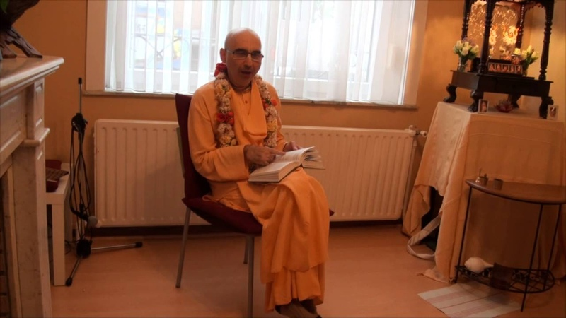 Шрила Бхактиведанта Садху Свами.( 09.05.2016 ) Чатуршлока Бхагавад-гиты. Брюссель 1