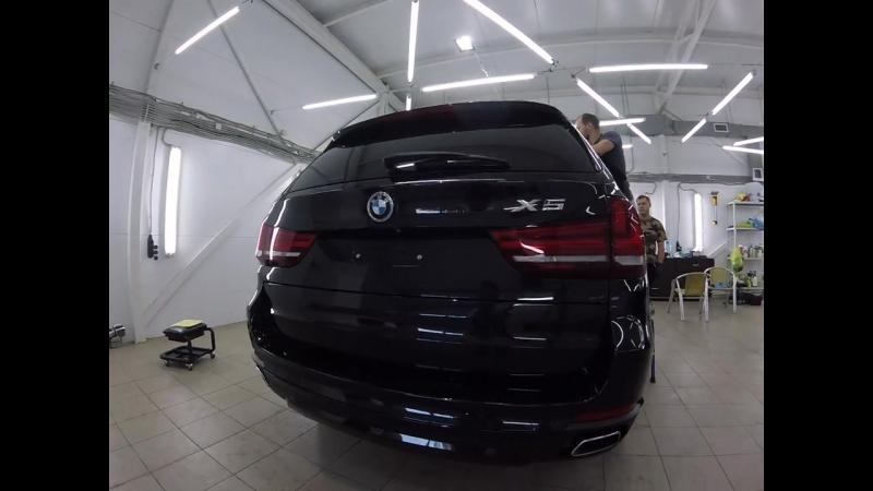 BMW Х5, нанокерамика жидкое стекло