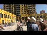 Репортаж со строительной площадки ЖК LEGENDA Комендантского.