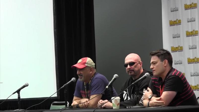 Scott Snyder Greg Capullo on DC: Metal at Orlando Megacon 2017