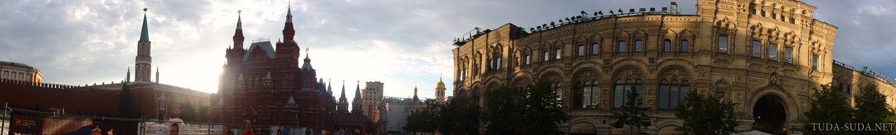 Панорама Красная площадь фото