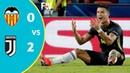 VALENCIA CF 0-2 Juventus - Extended Highlights 2018