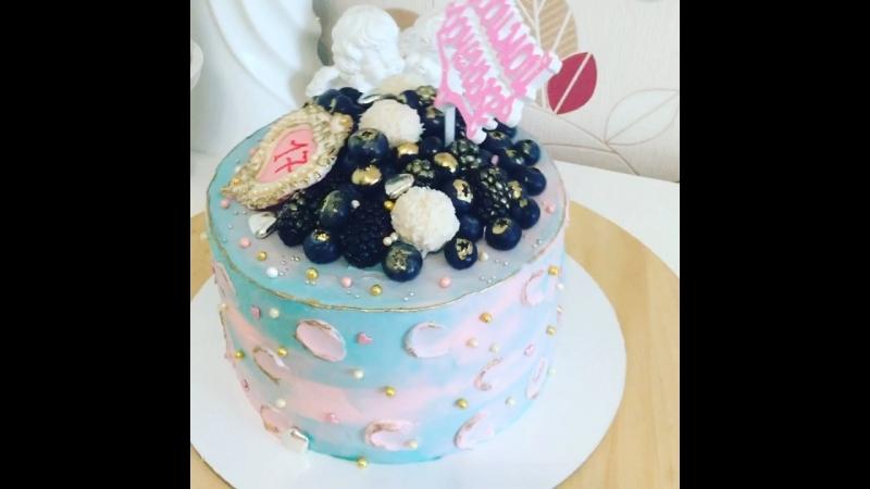 Торт в стиле Tiffany