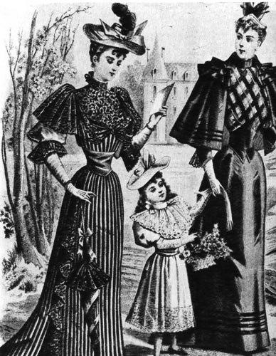 история юбки в стиле модерн: