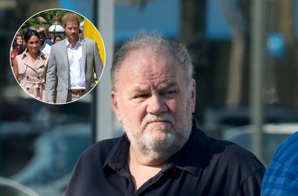 Снова за свое: отец Меган Маркл обвинил принца Гарри в высокомерии
