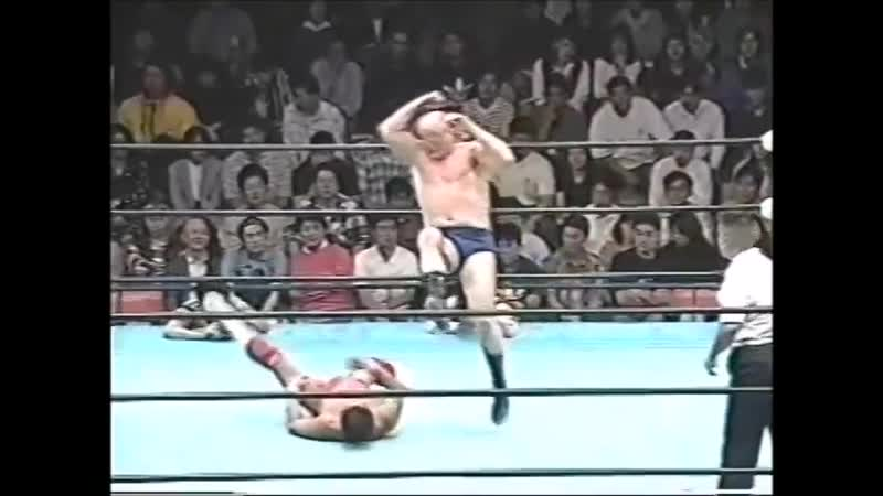 1996.09.28 - Dory Funk Jr. vs. Mighty Inoue [FINISH]