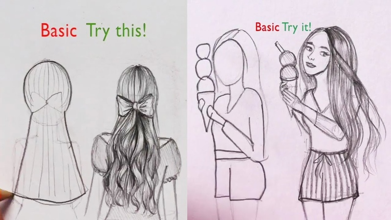 DOs DON'Ts: How to Draw Easy Step by Step / Art Drawing Tutorial / part 12