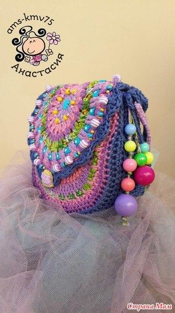 dd6854945761 детские сумки крючком - Самое интересное в блогах