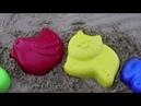 Learn Colors for Children Sand Molds Finger Family Nursery Rhymes birds