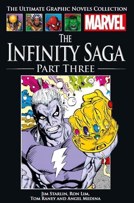Marvel Официальная коллекция комиксов №137 - Война Бесконечности. Книга 2