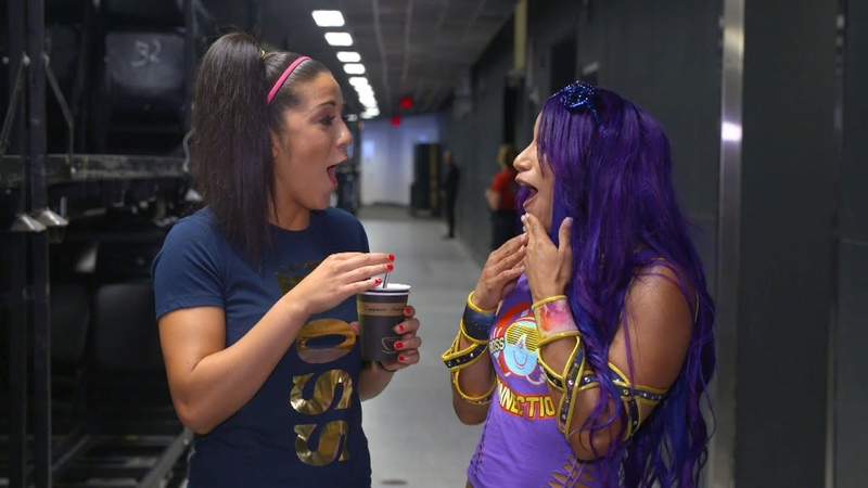 Bayley and Banks get real about Flair and Lynch's falling out: WWE Exclusive, Aug. 28, 2018