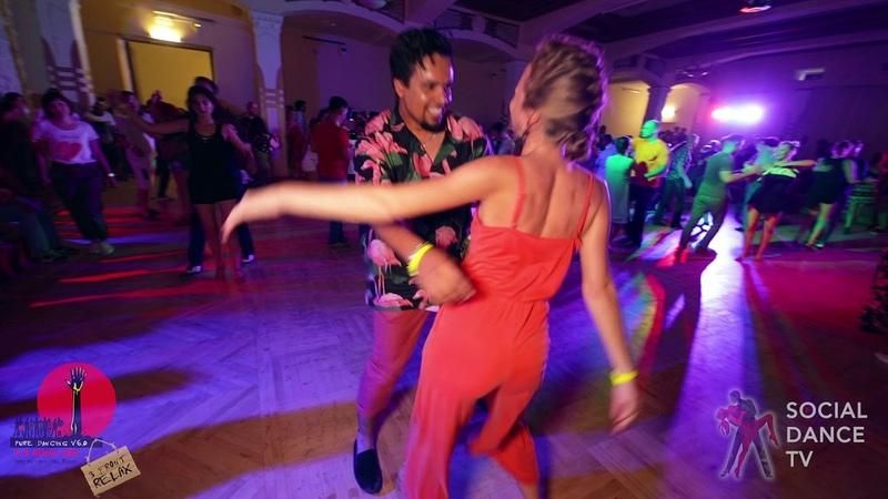 Boris Rimma - Salsa social dancing at the 2018 The Third Front Salsa Festival
